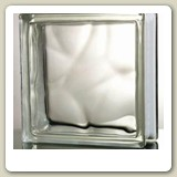 CLOUDY Glass Block from Blokup.com.au - The Glass Block Shop