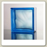 CLOUDY BLUE Glass Block from Blokup.com.au - The Glass Block Shop