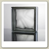 CLOUDY GREY Glass Block from Blokup.com.au - The Glass Block Shop