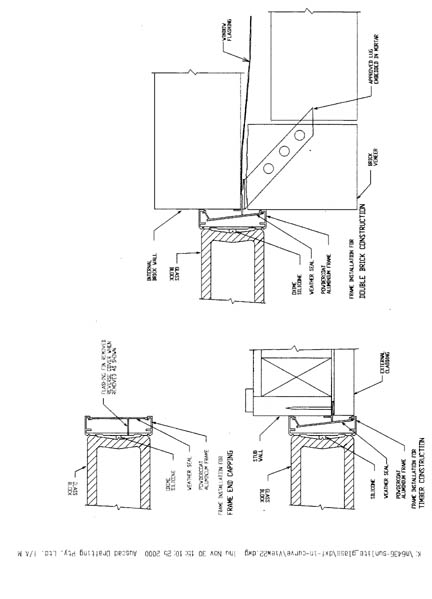 BlokUp Section through Jamb and Sill (Australia
