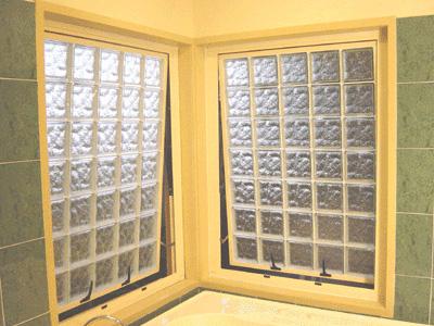 Internal glass block window for Glass block alternatives