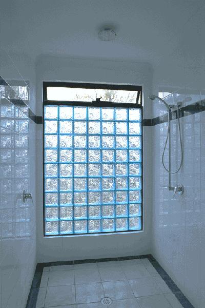 vented welle blue shower wall. Black Bedroom Furniture Sets. Home Design Ideas
